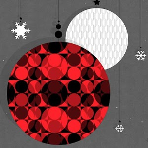 Christmas Ornaments Atom theme download