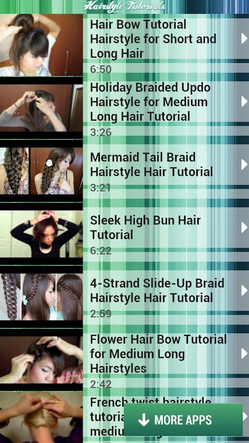 Hairstyle Tutorials - screenshot