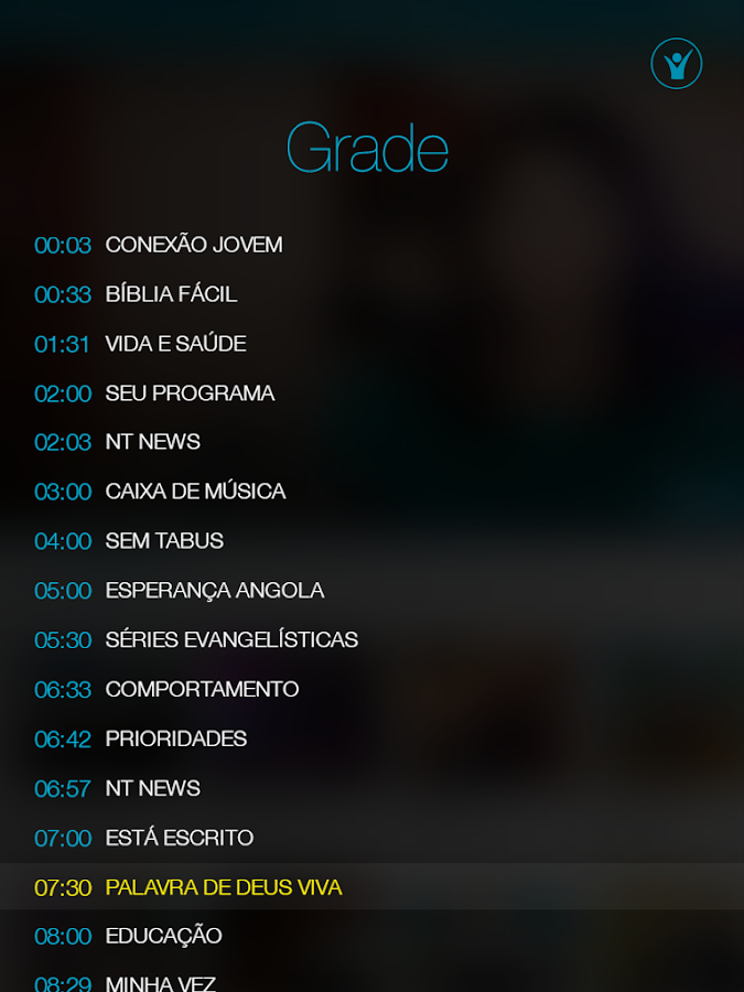 TV Novo Tempo- screenshot