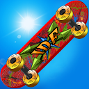 Skate Parkour Mania Free mobile app icon