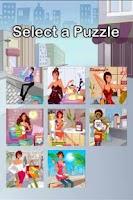 Screenshot of Shopping Girl Puzzle