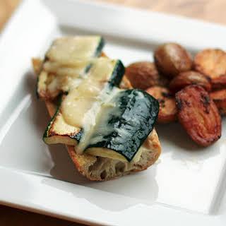 Gruyère-and-Zucchini Sandwiches with Smoky Pesto.