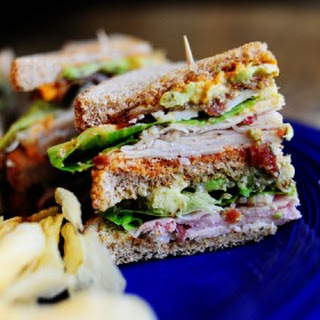 Killer Club Sandwich.