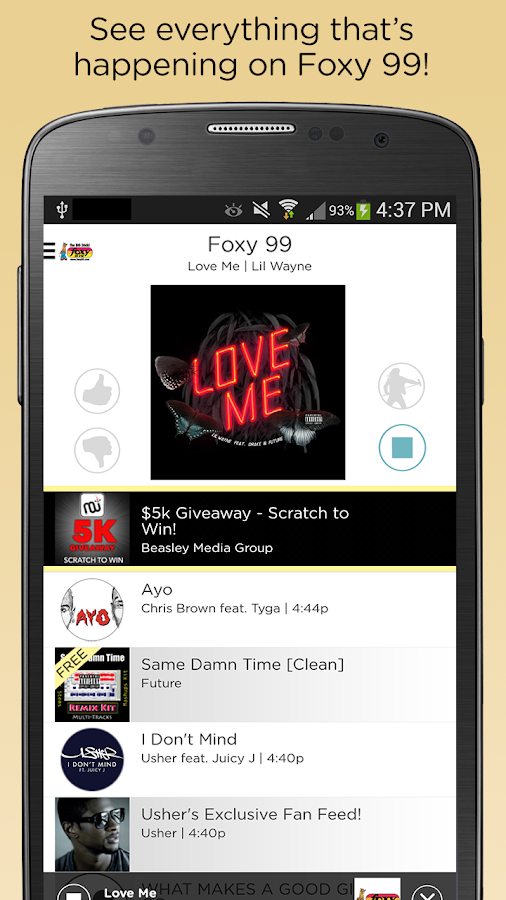 Foxy 99 FM- screenshot