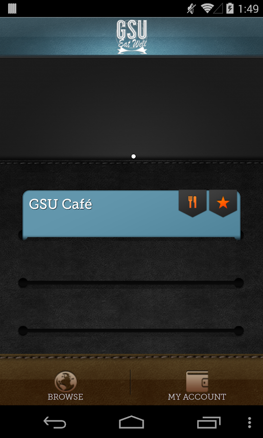 Eat Well On Campus - GSU- screenshot
