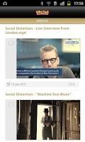 Screenshot of Social Distortion