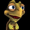 Pet talking turtle icon