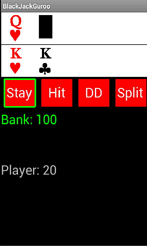 BlackJackGuroo- screenshot