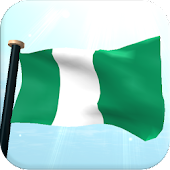 Nigeria Flag 3D Live Wallpaper