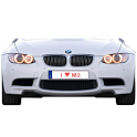 BMW M3 battery widget icon