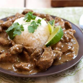 Caribbean Lamb Curry.