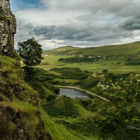 Walk to castle Ewen by Nicole Williams - Novices Only Landscapes ( castle view faeries skye )