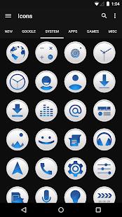Clean Blue - Icon Pack Screenshot 4
