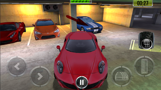 Игра Подземный Паркинг HD для планшетов на Android