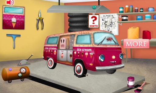 アイスクリームトラックの修正と修復
