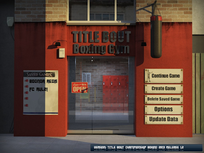 Title Bout Boxing 2013 Screenshot 1