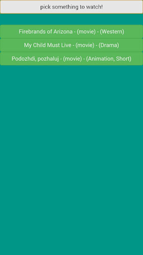 Pick a Movie