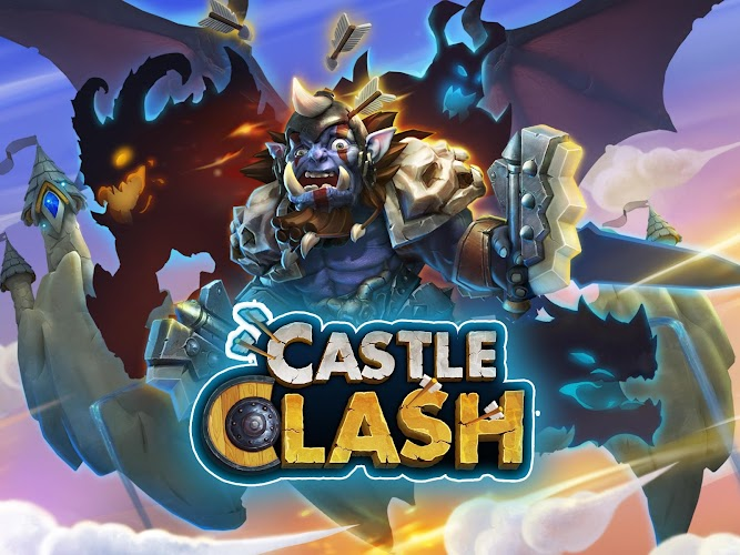 Castle Clash v1.2.73 Mod APK [Latest] - Cover