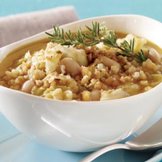 White Bean and Arborio Rice Soup