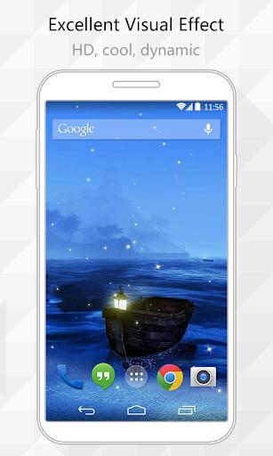 Blue Sea Live Wallpaper