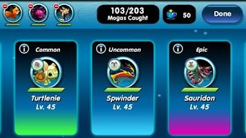 Screenshot of Monster Galaxy