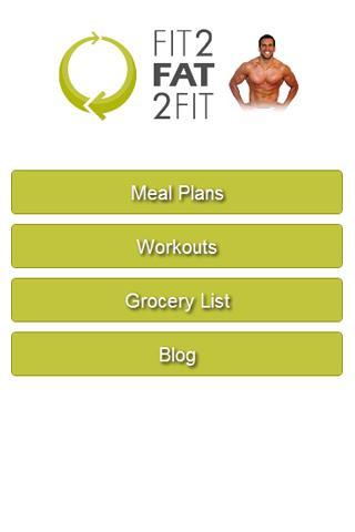 Fit 2 Fat 2 Fit - screenshot