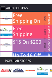 Auto Coupons screenshot 0
