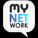 myNETwork (Facebook, Twitter) logo