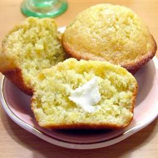 Plantain Corn Muffins.