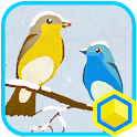 New year of birds : 카카오홈 테마