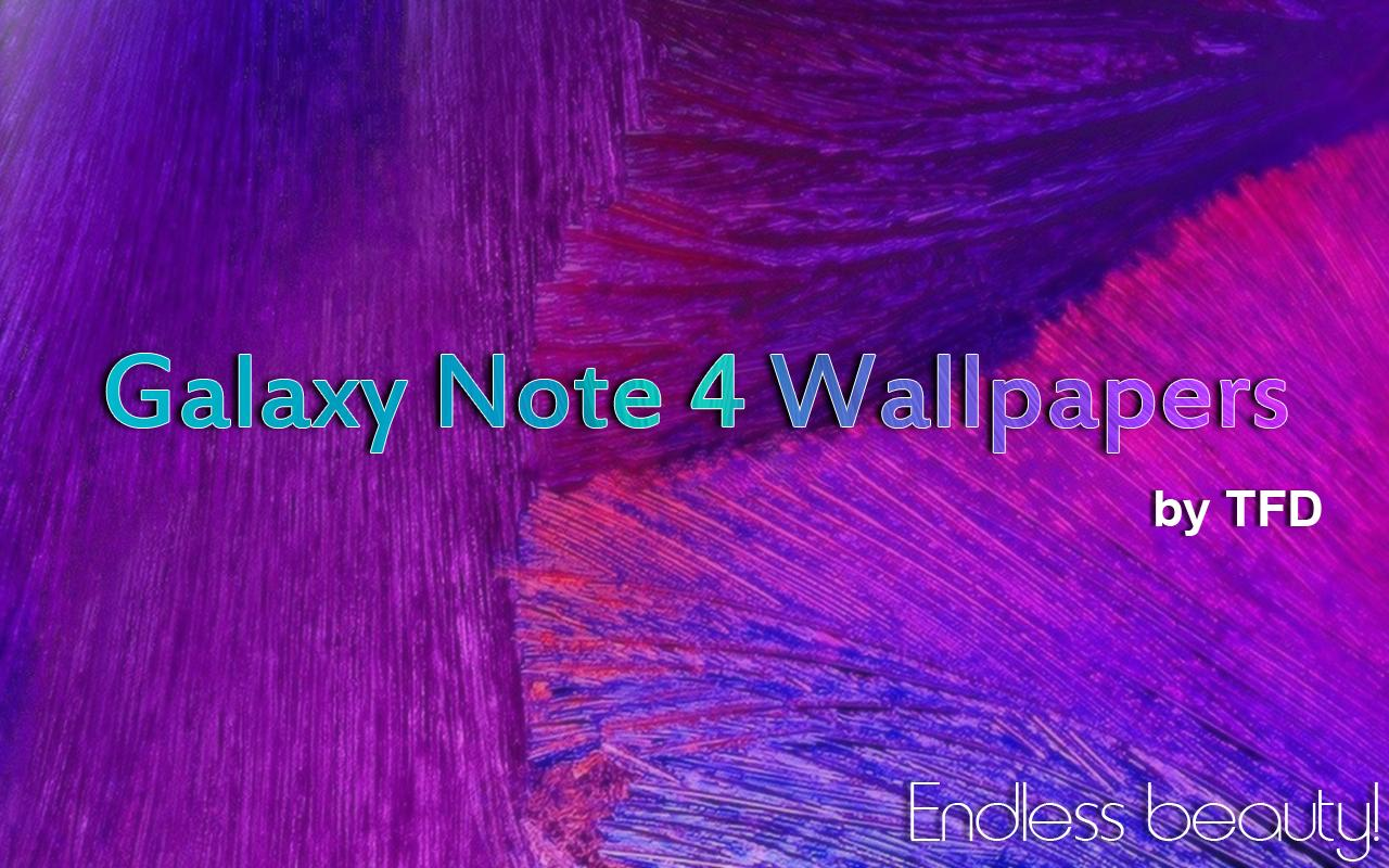 Stock Galaxy Note 4 Wallpapers Screenshot