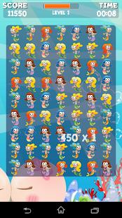 Mermaid Princess Crush Game