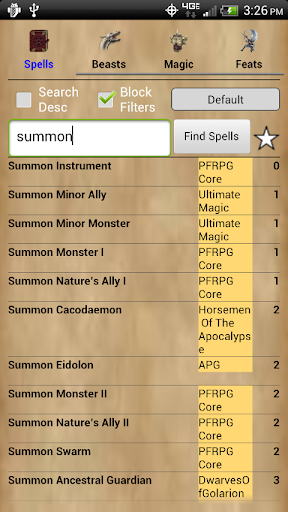 Pathfinder RPG Resource