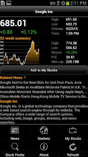 Bloomberg for Smartphone - screenshot thumbnail