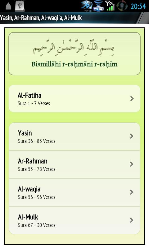 Yasin Audio (Ali Al-Hudhaify)- screenshot