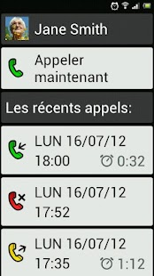 BIG Launcher Easy Phone DEMO Capture d'écran