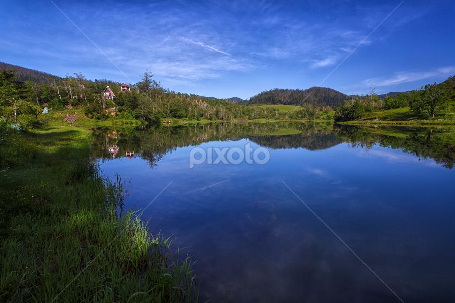 Mrzla Vodica lake by Stanislav Horacek - Landscapes Waterscapes