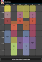 Screenshot of Timetable Kit - Class Schedule