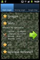 Screenshot of GPS, find me!