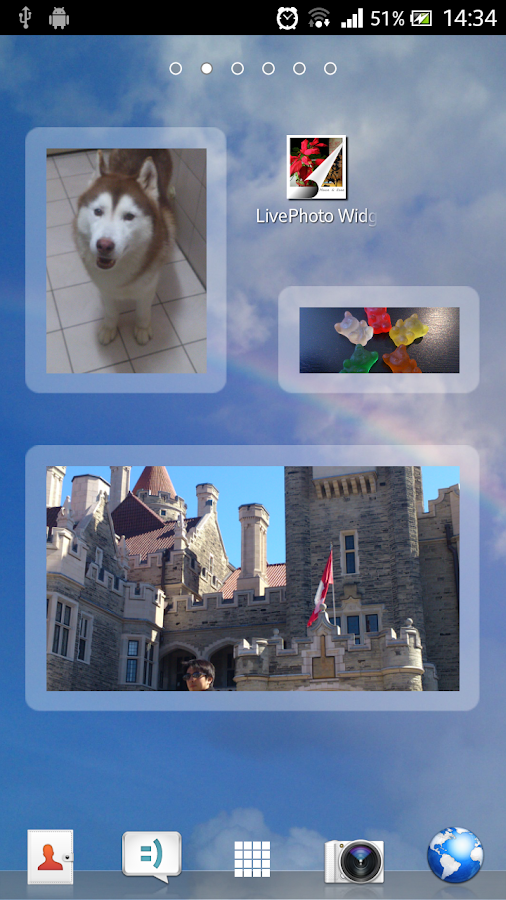 LivePhoto Widget- screenshot