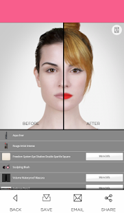 Virtual Makeover - screenshot thumbnail