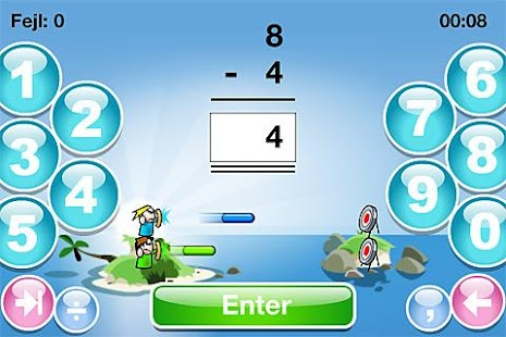 SkoleMat Level 1 gratis - screenshot thumbnail
