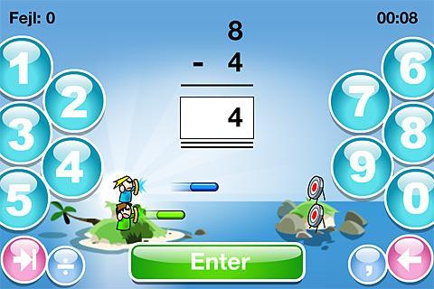 SkoleMat Level 1 gratis- screenshot