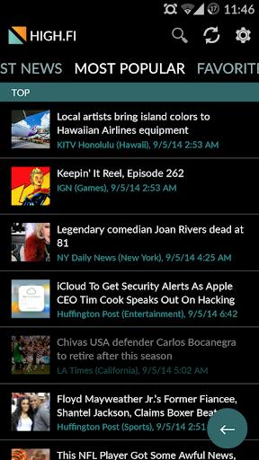 【免費新聞App】HIGH.FI - RSS & News Reader-APP點子