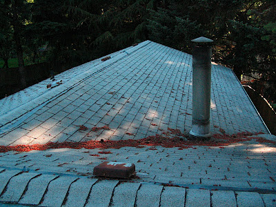 Chimney Pipe In Valley Roofing Siding Diy Home