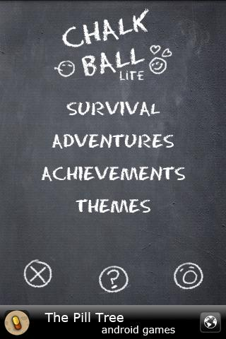 Chalk Ball Lite - screenshot