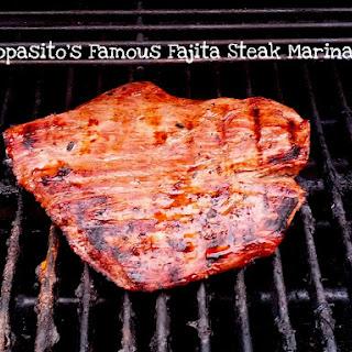 Pappasito's Fajita Steak Marinade.
