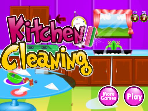 廚房清潔遊戲