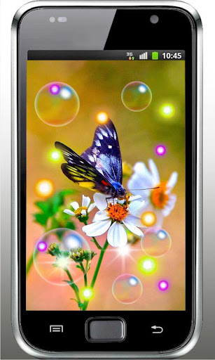 Butterfly Cool live wallpaper
