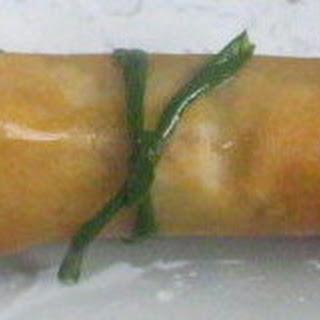 Mango Coconut Cashew Spring Rolls
